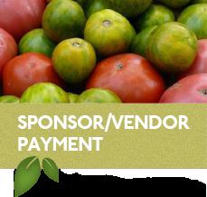 Sponsors & Vendors, Pay here!